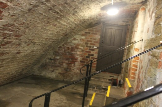 The old jails in the basement of the Town Hall.