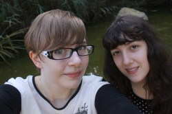3. I look very pale as I was ill!
