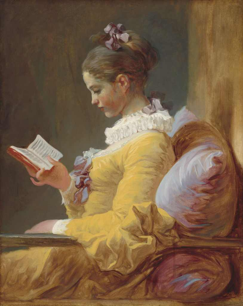 Fragonard The Reader