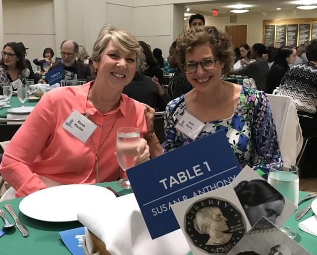 Beth and Karen Levine Breakfast
