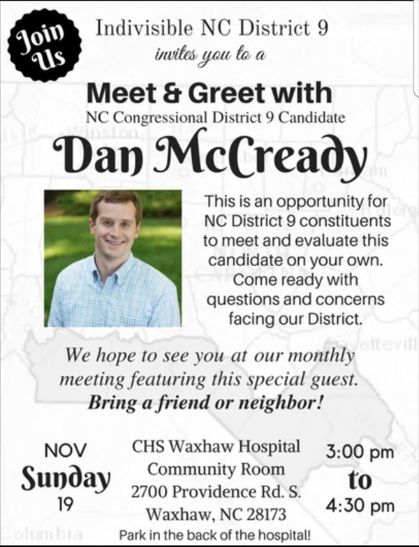 Dan NcCready Nov 19