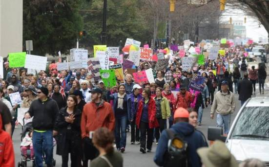 Womens March CLT(2)