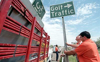 Golf_traffic