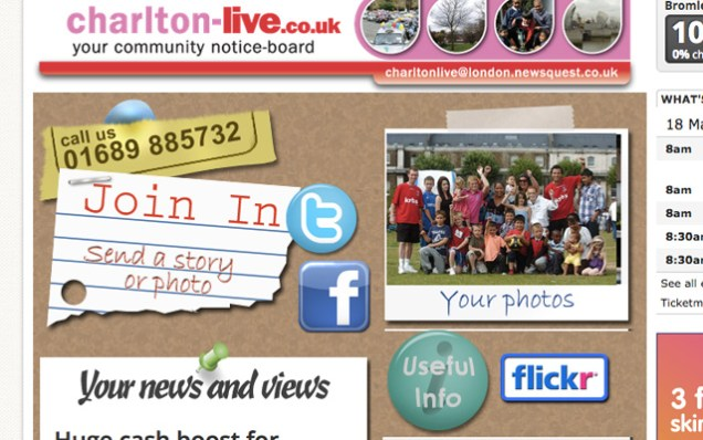 Charlton Live: The News Shopper's short-lived attempt at a local site
