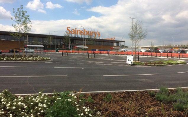 Charlton Sainsbury's, 16 June 2015