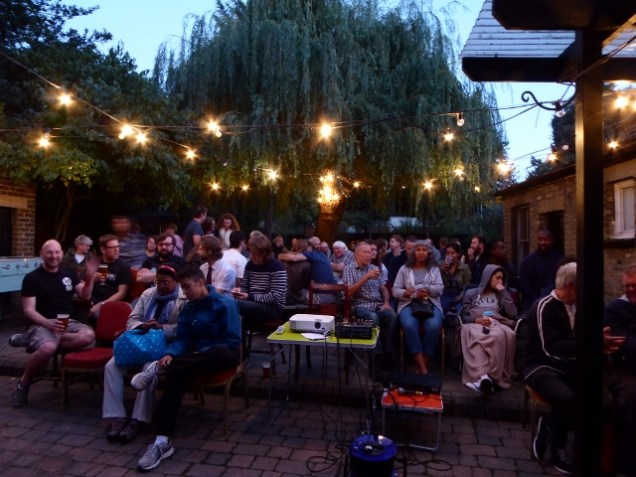 Last year's Charlton & Woolwich Free Film Festival included a screening of Shaun of the Dead at the White Swan pub
