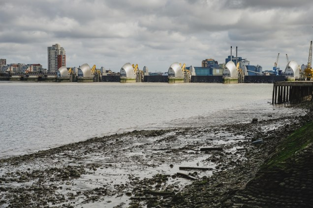 Thames Barrier test 2016