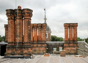 Bee Hives On Charlton House Roof