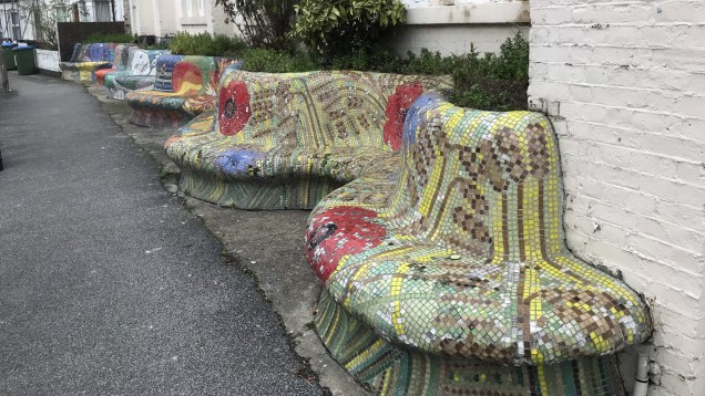 Rathmore Road benches