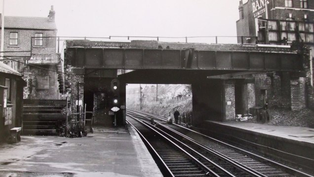 Charlton station in 1961