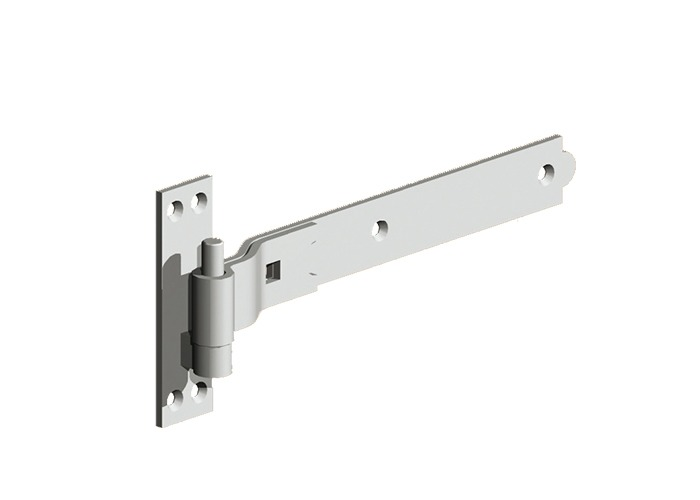 gate pin on plate hanger