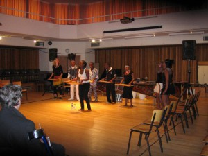 Christine Wambui ensemble UCT performance - 2