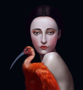 Miss Orange Stork