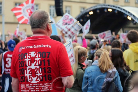 Brose Baskets Deutscher Basketballmeister 2016, autor: charlotte moser