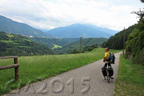 Auf dem Weg nach Brixen, autor: charlotte moser