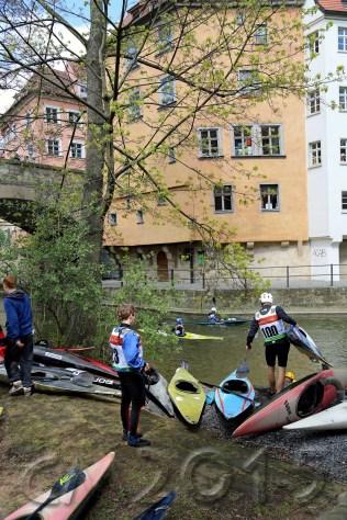 Kanu-Slalom rund um Alte Rathaus, Autor: Charlotte Moser