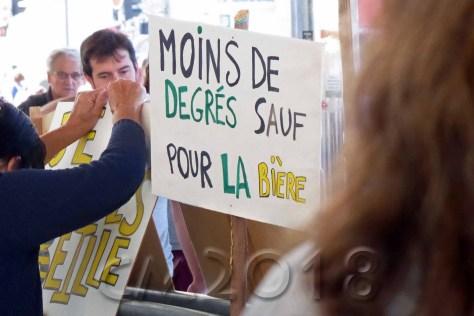 Marseille, Demonstration für die Erhaltung der Bäume an La Plaine, Autor: Charlotte Moser