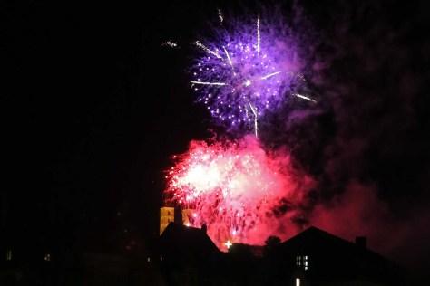 Feuerwerk in Bamberg, Autor: Charlotte Moser