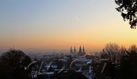 Wintersonne Bamberg, autor: charlotte moser