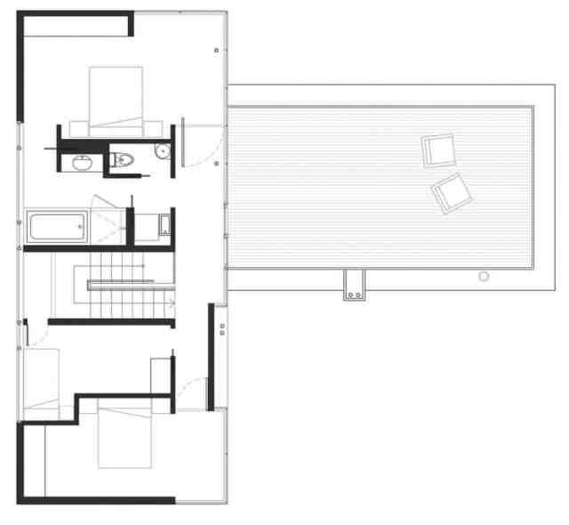 マクファーレン・ビガー・アーキテクツ+デザイナーによる岩場の劇的な島の隠れ家(14)