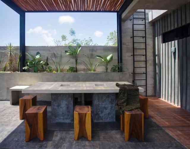 トゥルムメキシコの活気に満ちた家T-House homesthetics architecture(7)