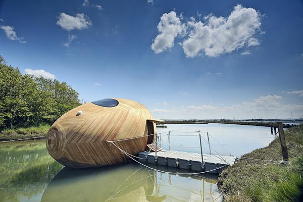 水上に住みたくなるような水上住宅