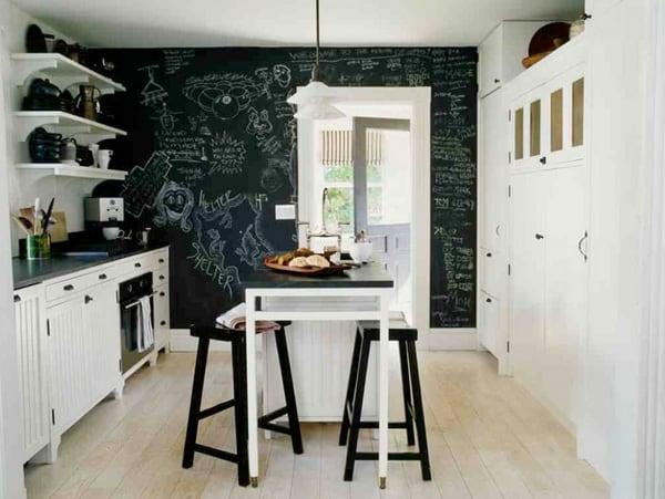 黒塗りの壁-11-1 Kindesign
