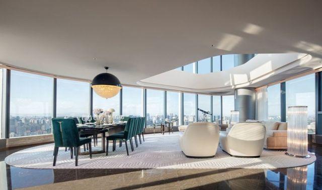 """モダンデザインラグジュアリーモダンデザインアボード–  """" FENDI Apartment""""  CCDによる設計CCD 4による設計の高級モダンアボードフェンディアパートメント"""