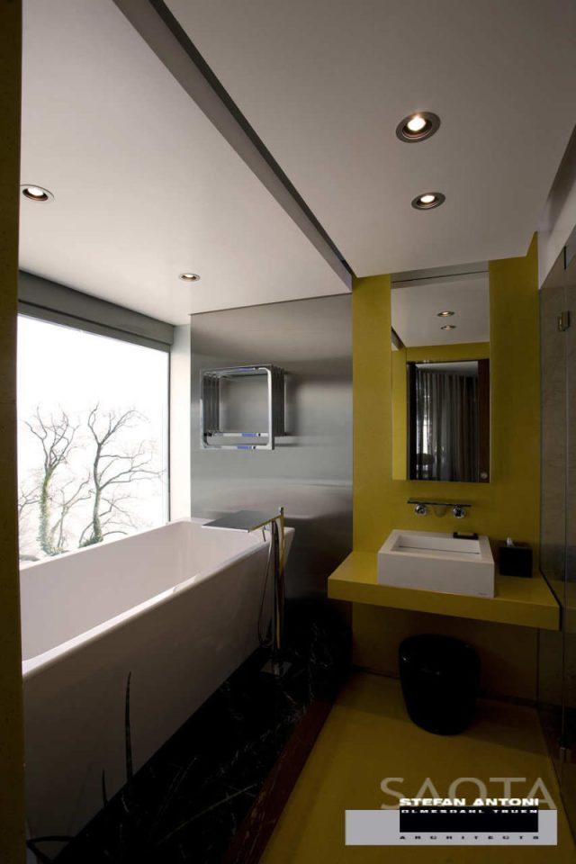 バスルームのインテリアデザインの屋外志向の夢