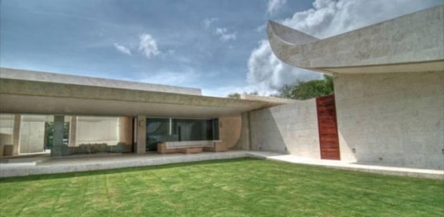 ドミニカ共和国のA-ceroによる大規模なコンクリートの家(1)