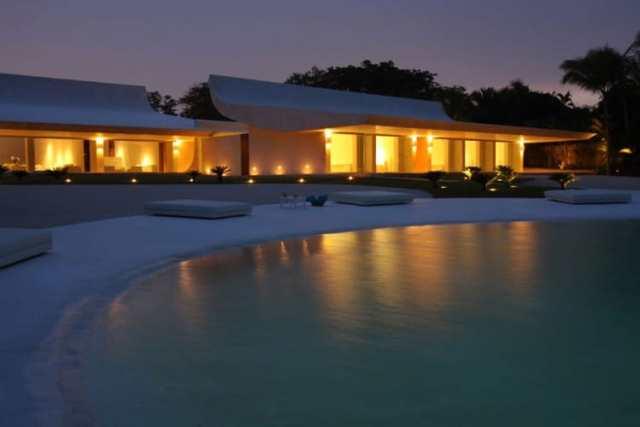 ドミニカ共和国のA-ceroによる大規模なコンクリートの家(10)