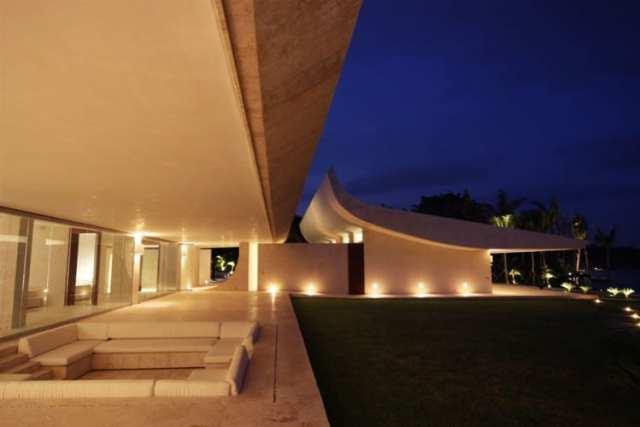 ドミニカ共和国のA-ceroによる大規模なコンクリートの家(28)