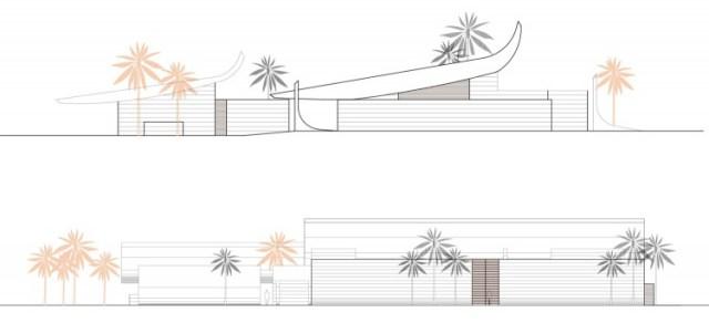 ドミニカ共和国のA-Ceroによる大規模なコンクリートの家(31)