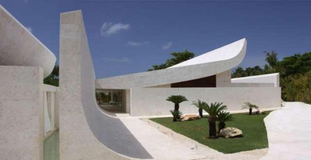 ドミニカ共和国のA-Ceroによる大規模なコンクリートの家(39)