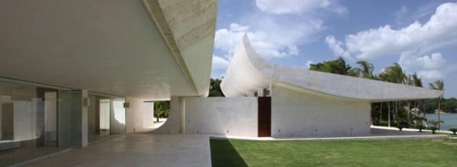 ドミニカ共和国のA-ceroによる大規模なコンクリートの家(4)