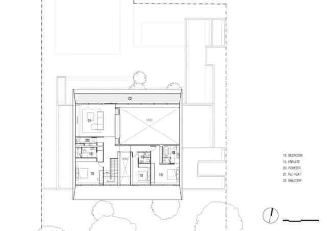 マット・ギブソン・アーキテクチャーがメルボルンのコンクリート・ホームのデザインを設計(22)