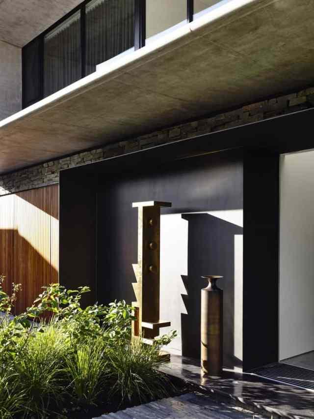 マット・ギブソン・アーキテクチャーがメルボルンのコンクリート・ホームのデザインを設計(6)