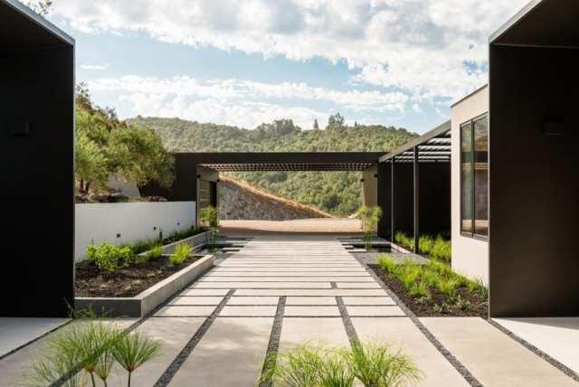 ジョンマニスカルコの美学の装飾によるオークビルの素晴らしい現代的な家(5)