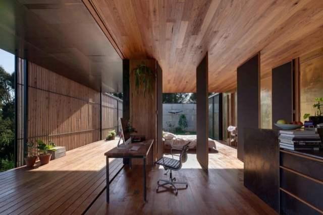 オーストラリアの製材所を定義する記憶を備えた再生コンクリートブロックhomestheticsマガジンの現代住宅(11)