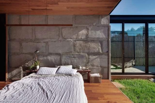 オーストラリアの製材所を定義する記憶を備えた再生コンクリートブロックhomestheticsマガジンの現代住宅(13)
