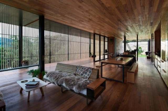 オーストラリアの製材所を定義する記憶を備えた再生コンクリートブロックhomestheticsマガジンの現代住宅(8)