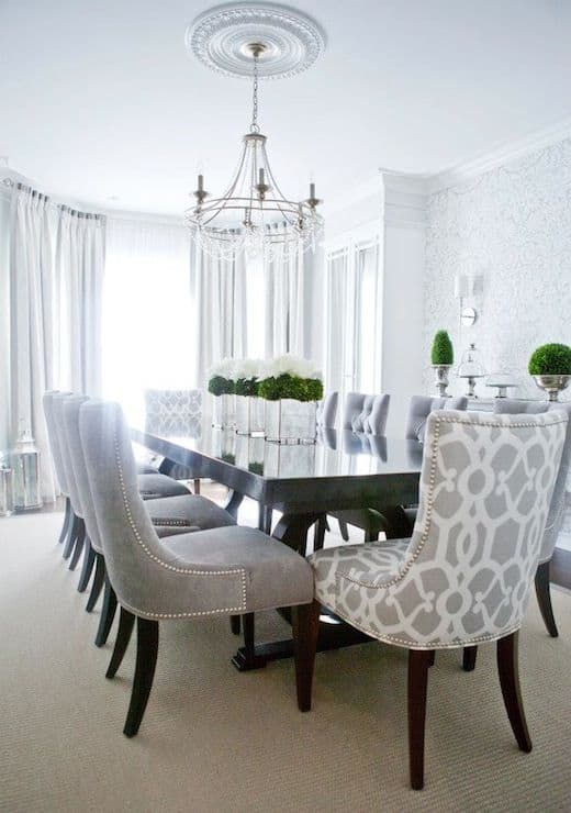 20ダイニングルームテーブル家具のアイデア(1)