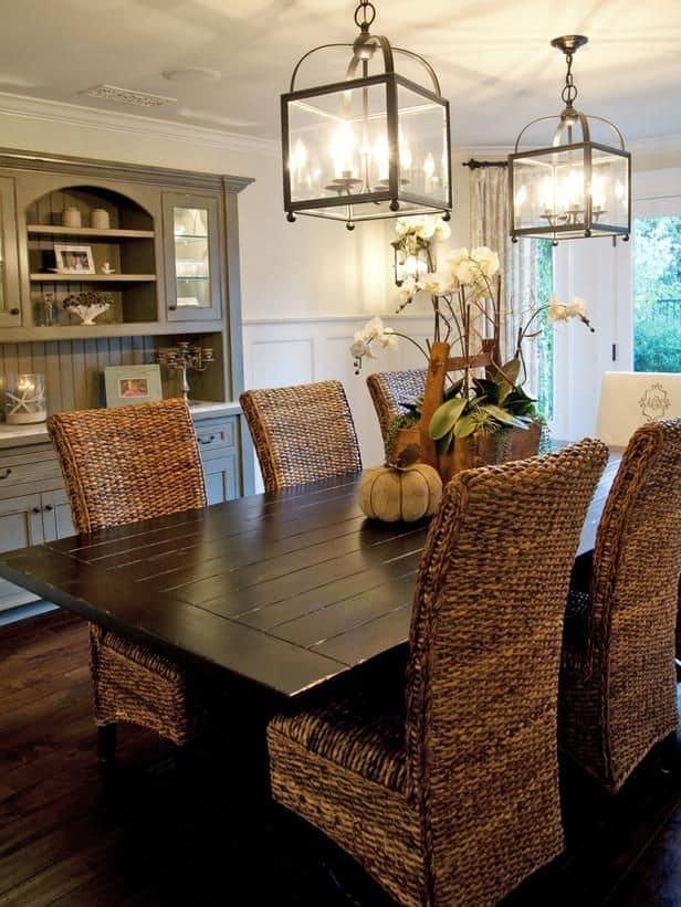 20ダイニングルームテーブル家具のアイデア(17)