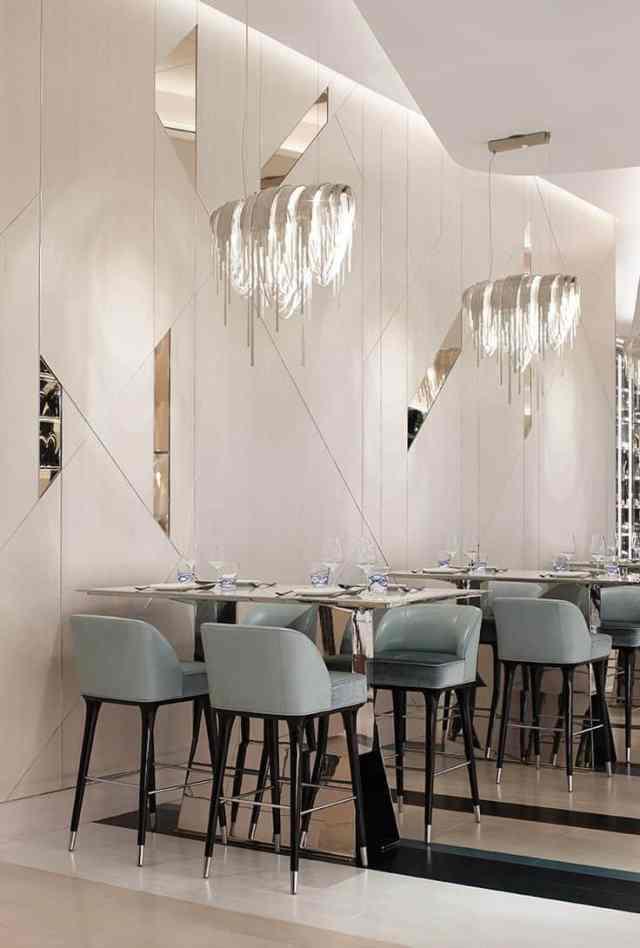 魅力的で人気のある飲食店を作るために盗むことができる25の興味深いスタイリッシュなレストランのアイデア(10)