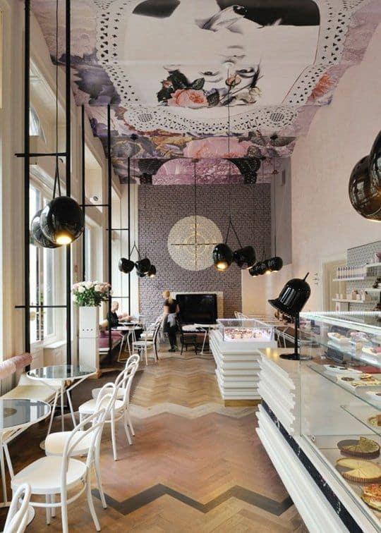 魅力的で人気のある飲食店を作るために盗むことができる25の興味深いスタイリッシュなレストランのアイデア(21)