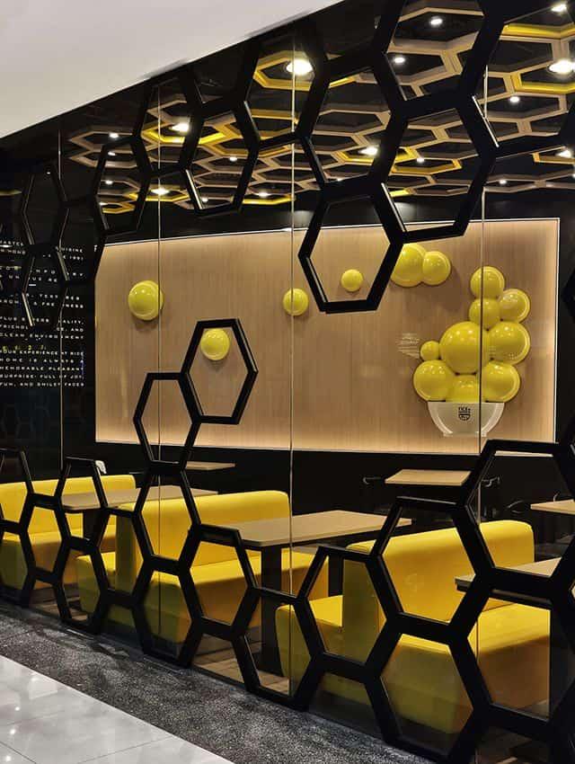 魅力的で人気のある飲食店を作るために盗むことができる25の興味深いスタイリッシュなレストランのアイデア(5)