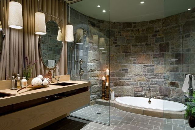 10-AD-Opulent-bathroom-with-a-sunken-Jacuzzi-and-a-curved-stone-wall
