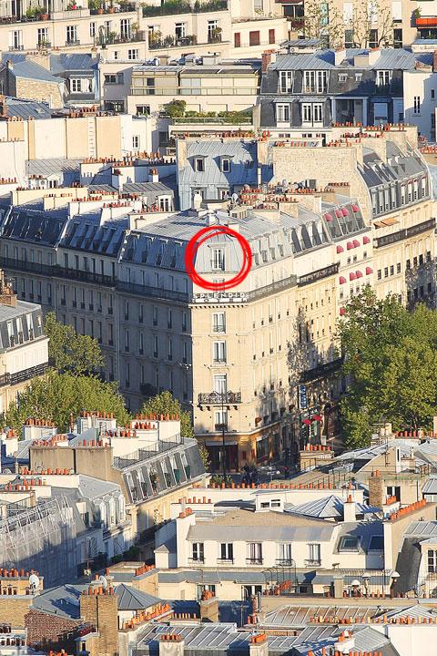 フランス、パリのエッフェル塔からの眺め。 www.kevinandamanda.com #travel #paris #france #photography