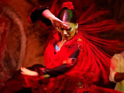 画像に含まれる可能性のあるもの:ダンスポーズ、レジャーアクティビティ、パフォーマー、人間、人、フラメンコ、ダンス