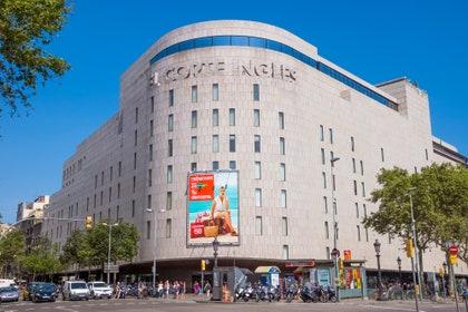 バルセロナ、ショッピング、エルコルテイングレス(カタルーニャ広場)